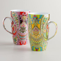 Venice Mugs, Set of 2
