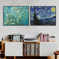 Abstract Oil Painting Canvas HD Print Famous Van Gogh Monet Landscape Paintings Wall Art Picture Living Room Decor