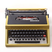 Fully working Typewriter Underwood 31 - equivalent to Lettera 31T Olivetti, designed by Ettore Sottsass
