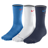 The Nike Dri-FIT Cotton Fly Crew Socks (3 Pair).