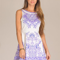 Garden Party Dress - Lavender