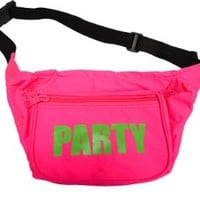 Neon Fanny Pack (Neon Pink)