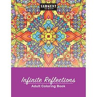 Case of [144] Adult Coloring Book Infinite Reflections