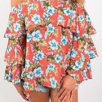 Island Bliss Off-The-Shoulder Top
