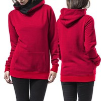 Pullover Blank Hoodie with Pockets