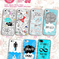 The Fault in Our Stars iphone 5/5s case iphone 5c case Hard Case Rubber Case,cover skin case for iphone 5/5s/5c case, More designs for you