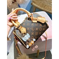 LV Louis Vuitton High Quality Popular Women Shopping Handbag Crossbody Satchel Shoulder Bag