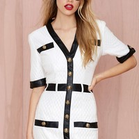 Channelling Quilted Dress