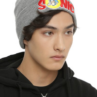 Sonic The Hedgehog Logo Watchman Beanie