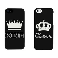 King and Queen Crown Matching Phone Cases for iphone 4, iphone 5, iphone 5C, iphone 6, iphone 6 plus, Galaxy S3, Galaxy S4, Galaxy S5, HTC M8, LG G3