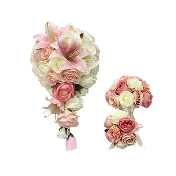 Shades of Blush, Pinks, and Ivory - Build Your Package