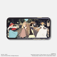 Funny Disney Princess Abbey Road iPhone Case Black Hard case 766