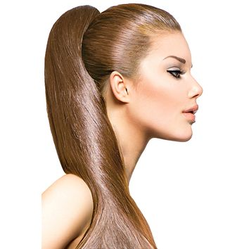 """16"""" Clip In Hair Extensions: No 8 Dirty Blonde"""