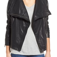 Levi's® Cowl Neck Faux Leather Jacket | Nordstrom
