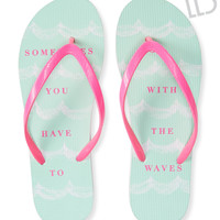 LLD Go With The Waves Flip-Flop