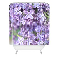 Lisa Argyropoulos Dreamy Lilacs Shower Curtain