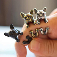 French Pitbull Wrap Ring