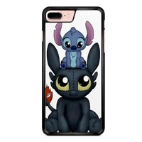 Stitch And Toothless Can I Sit Here 2 iPhone 7 Plus Case