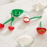 Mon Cherry Measuring Spoon + Egg Separator Set | Urban Outfitters