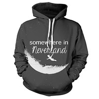 Peter Pan Somewhere In Neverland Hoodie