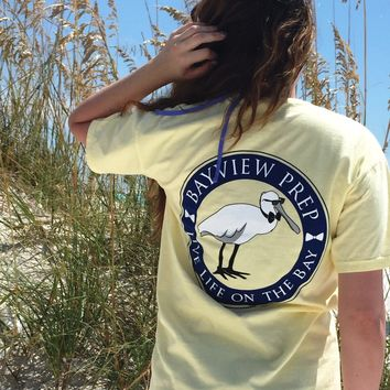 Coastal Prep Pocket Tee