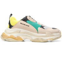 Light Beige Triple S Sneakers by Balenciaga