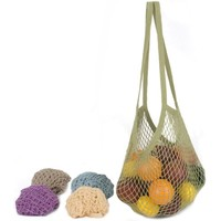ECOBAGS Classic String Bag Assorted Pastels Long Handle 1 Bag