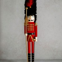 Guard Christmas Nutcracker (62cm x 11cm x 61cm) - Matalan