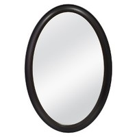 Threshold™ Beaded Oval Mirror - Brown