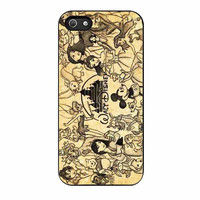 disney princess all character cartoon cases for iphone se 5 5s 5c 4 4s 6 6s plus