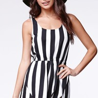 MinkPink All Down To You Playsuit - Womens Dress - Black