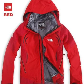 THE NORTH FACE / leopard skirt north face outdoor waterproof jackets