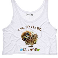Owl You Need Is Love Tank Top