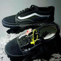 vans Men and women skateboard shoes casual shoes