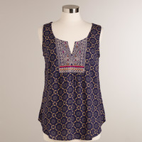 Embroidered Olivia Tank Top - World Market