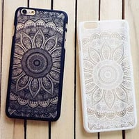 Original Vintage Lace Floral Iphone 6 S Plus Case Cover