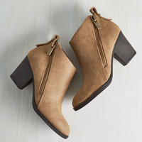 Slant You Three Wishes Bootie | Mod Retro Vintage Boots | ModCloth.com