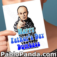 Funny Fathers Day | Red Forman | That 70'S Show Jackie Burkhart  Fathers Day Daughter First Fathers Day Funny Card For Him Gift For Dad Dada