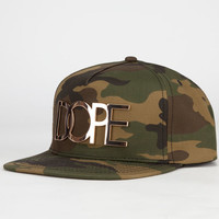Dope 24K Camo Mens Snapback Hat Camo One Size For Men 24549094601
