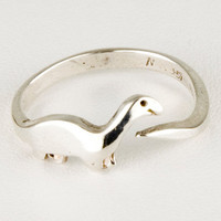 Dinosaur Sterling Silver Ring