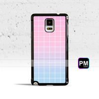 Pastel Grid Aesthetics Case Cover for Samsung Galaxy S3 S4 S5 S6 S7 Edge Plus Active Mini Note 3 4 5 7
