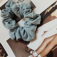 Chambray Scrunchie - Accessories by Sabo Skirt