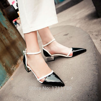 new summer patent leather sandal