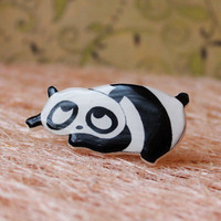 "Free shipping Broch ""Black-and-white panda"""
