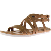 Teva Womens Avalina Leather Crossover Gladiator Sandals
