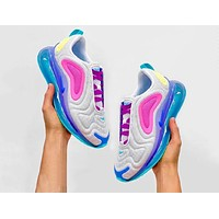 Nike Air Max 720 Fashionable Women Men Air Cushion Sport Shoes Sneakers