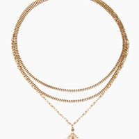 Just Like Heaven Necklace - 14k Gold