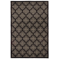 """5' x 7'6"""" Carcassonne Rug in Black and Dark Gray - Beyond the Rack"""