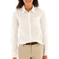 Arizona Long-Sleeve Button-Front Uniform Shirt