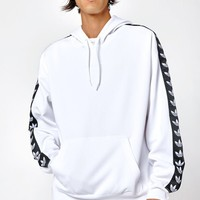 adidas TNT Tape White and Black Pullover Hoodie at PacSun.com